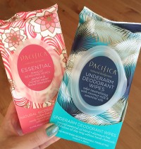 Latest Pacifica Faves: Underarm & Makeup Wipes