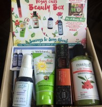 April 2015 Vegan Cuts Beauty Box Review
