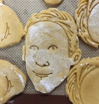 Ryan Gosling Vegan Sugar Cookies FTW!
