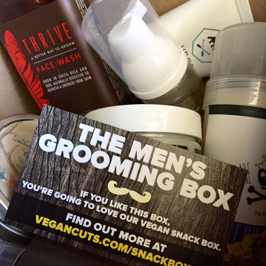 vegan cuts mens groom box
