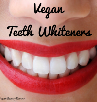Vegan Teeth Whitening Products