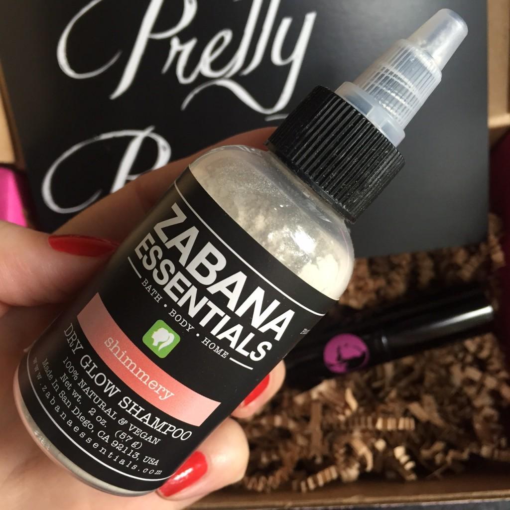 Zabana Essentials dry glow shampoo