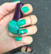Nails of the Day: SpaRitual's 'Emerald City'
