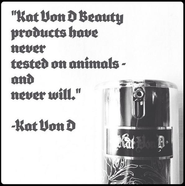 kat von d cruelty-free