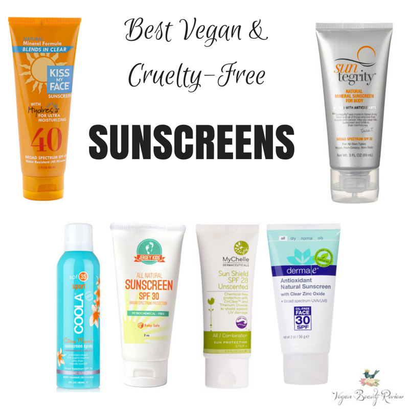 best vegan sunscreen