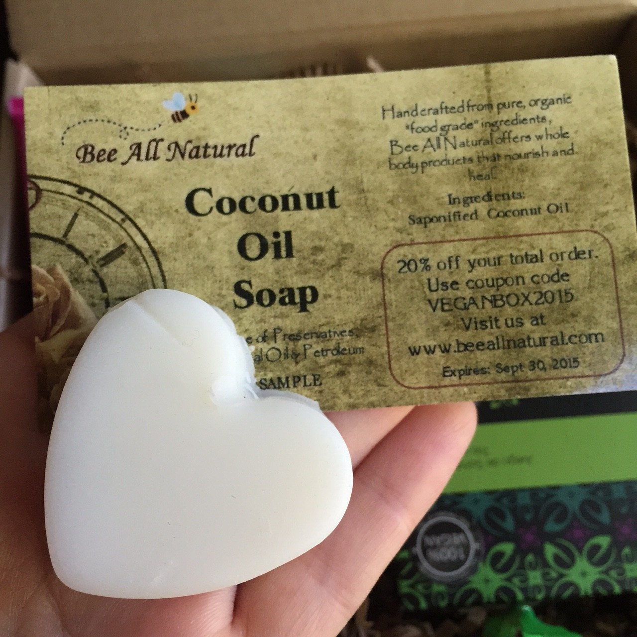 Bee All Natural Coconut Oil Soap