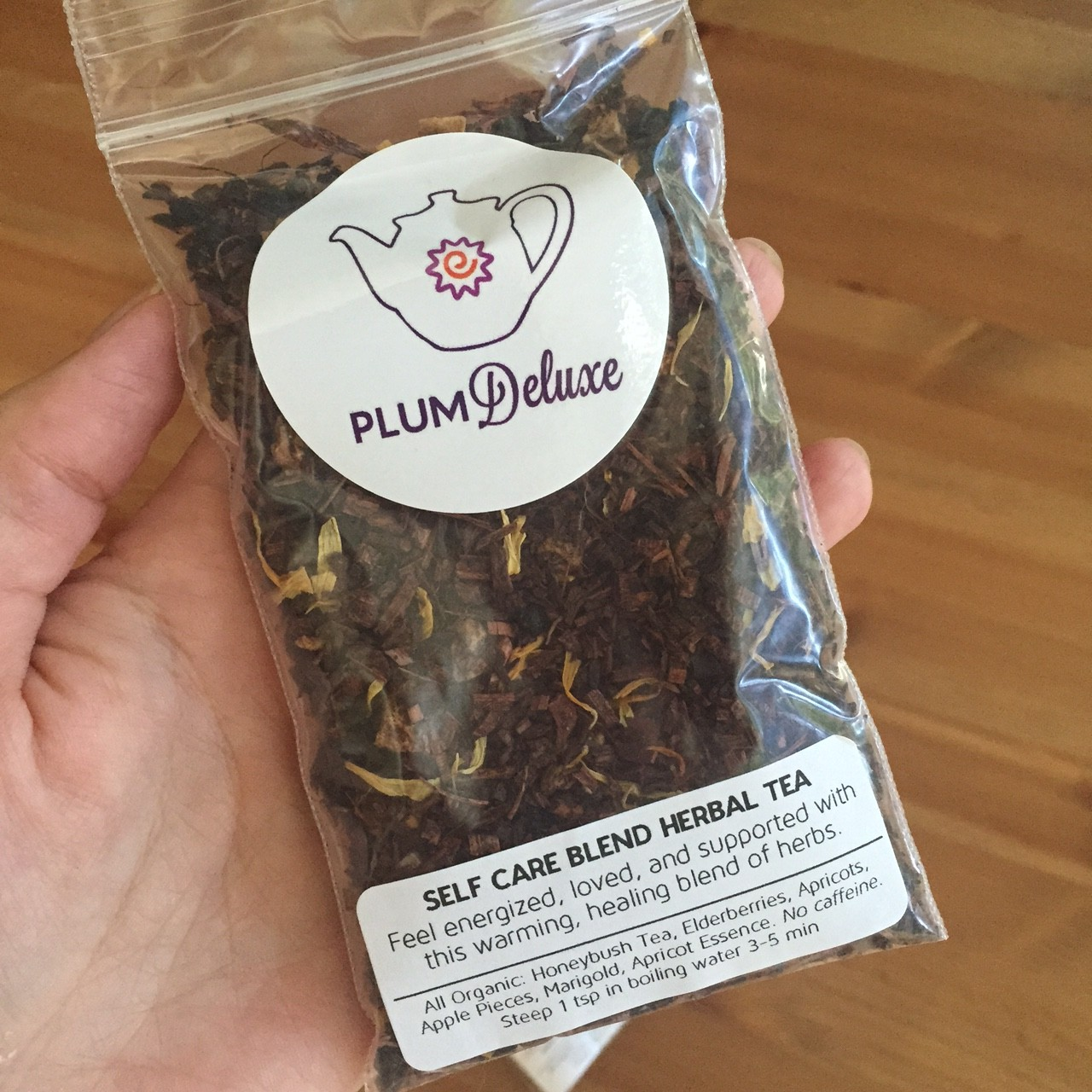 plum deluxe self care blend