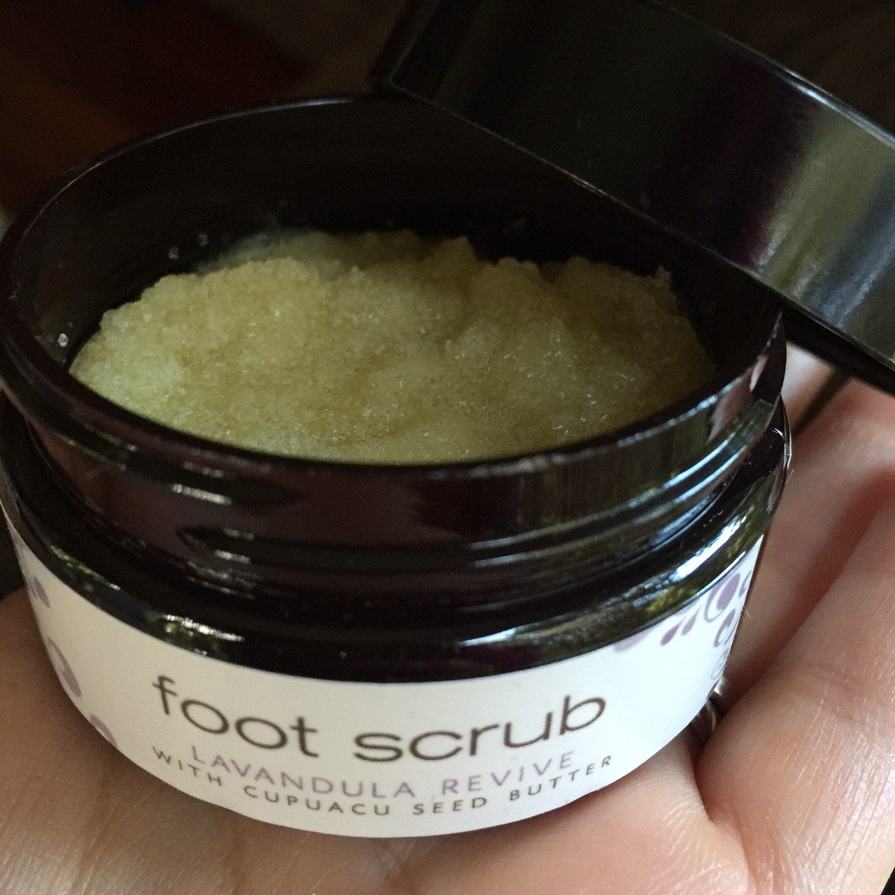 me & the girls foot scrub