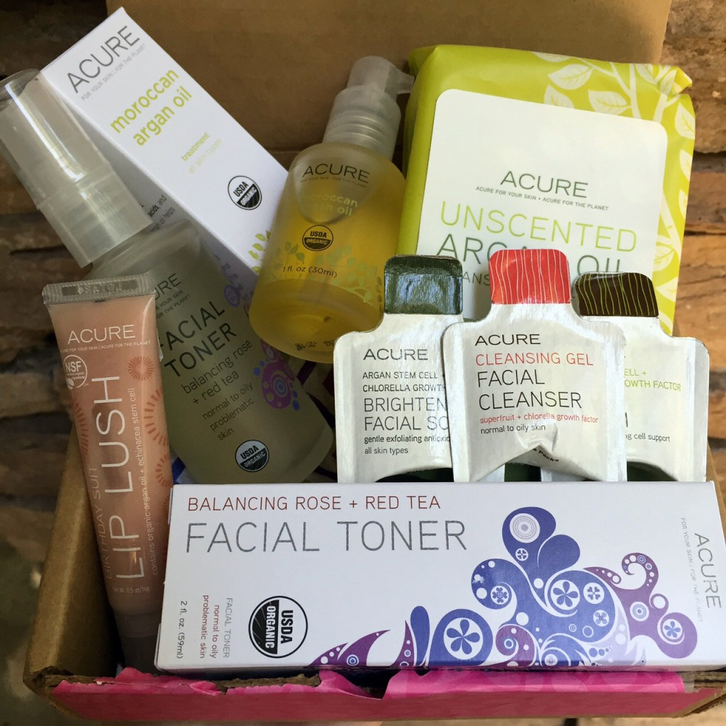 Glamorganic Goddess Beauty Kit From Acure Organics