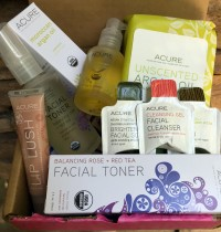 Glamorganic Goddess Beauty Kit from Acure Organics