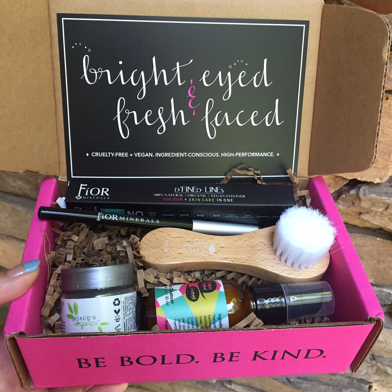 june petit vour beauty box