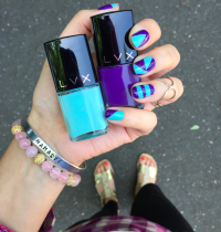 Nails of the Day: LVX Currant & Caicos