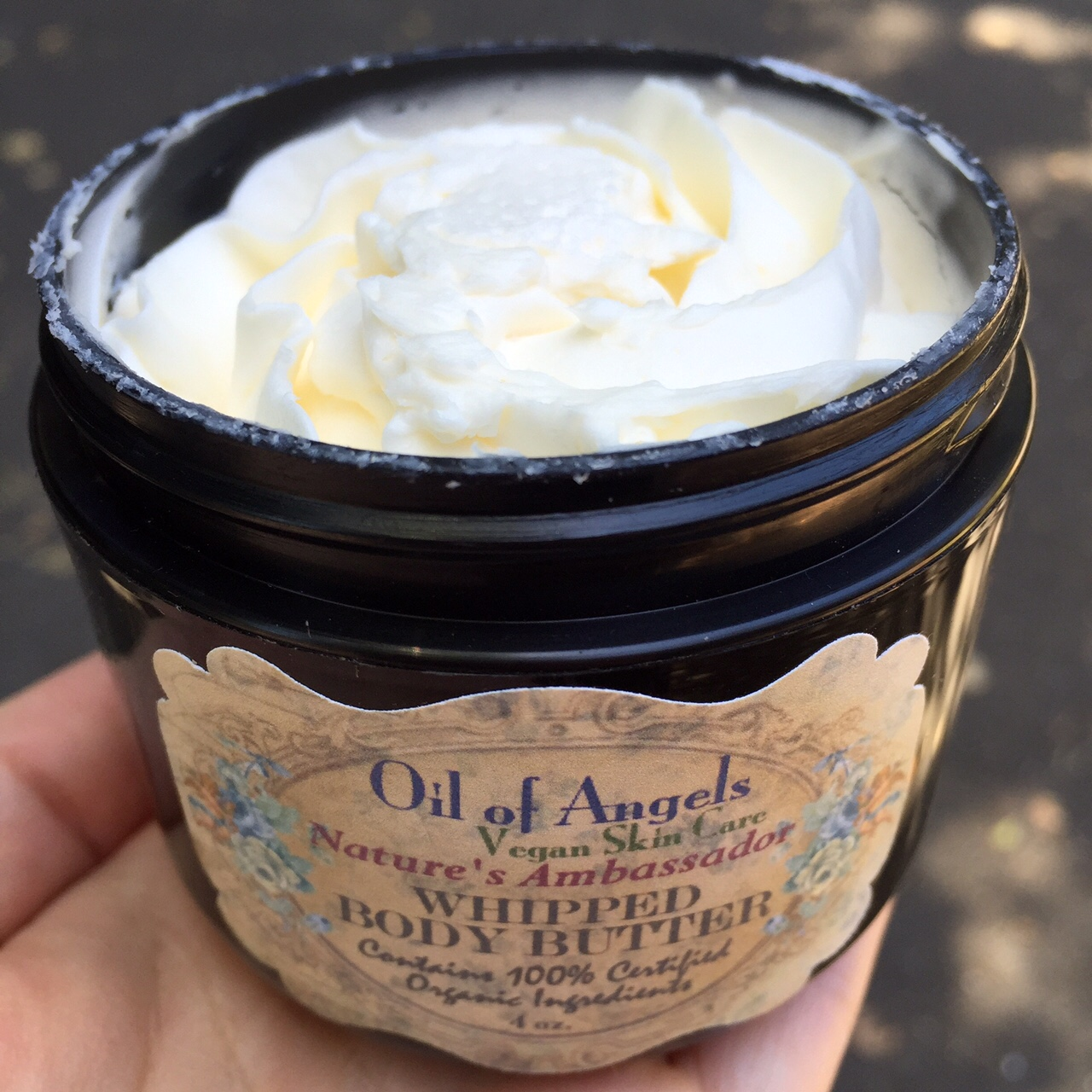 oil of angels body butter