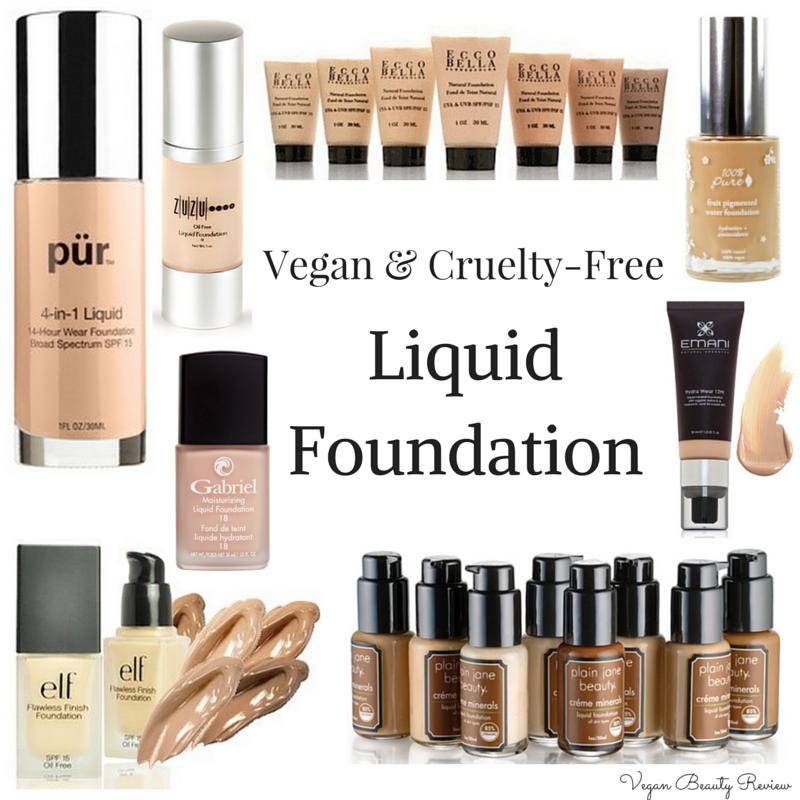 Vegan foundation