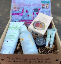 July 2015 Vegan Cuts Beauty Box Review