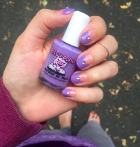 Nails of the Day: Piggy Paint's Periwinkle Little Star
