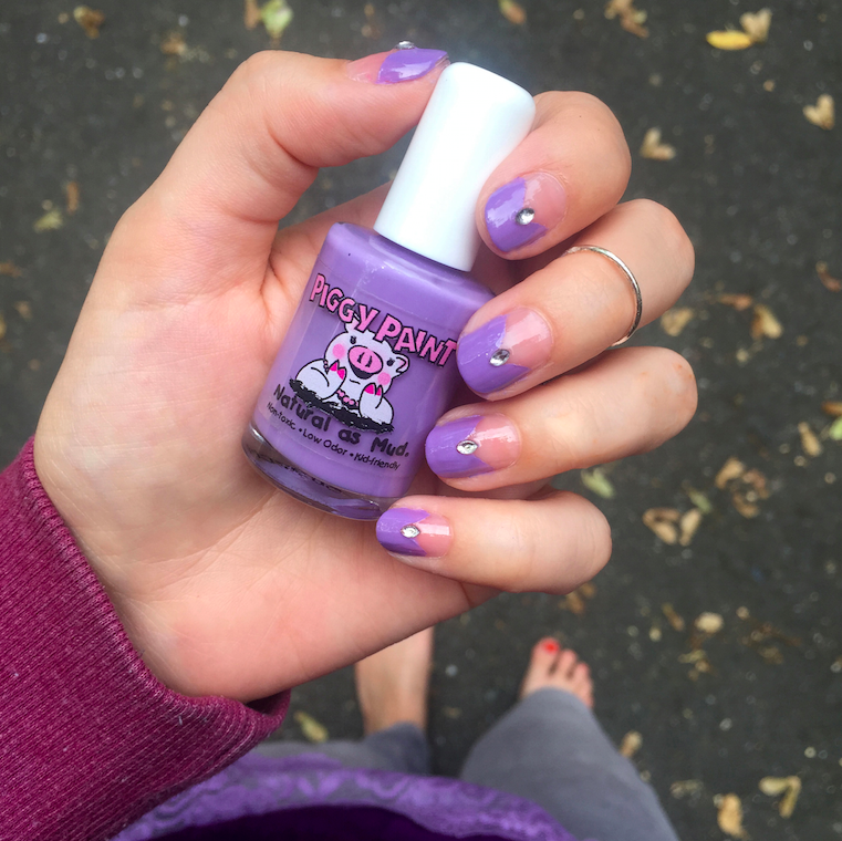 Nails of the Day: Piggy Paint\'s Periwinkle Little Star - Vegan ...