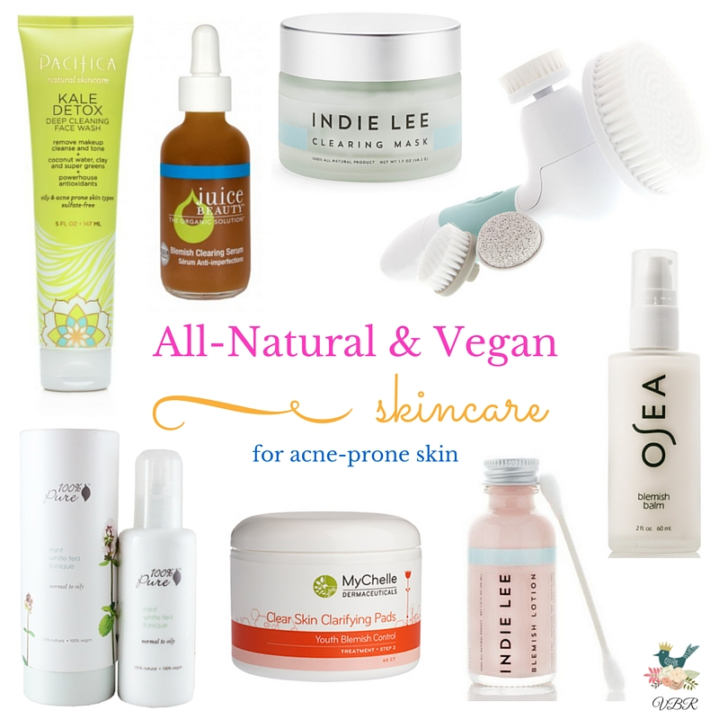 All-Natural & Vegan Skincare for Acne-Prone Skin - Vegan Beauty ...
