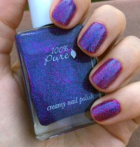 Nails of the Day: 100% Pure's Midsummer Night's Dream