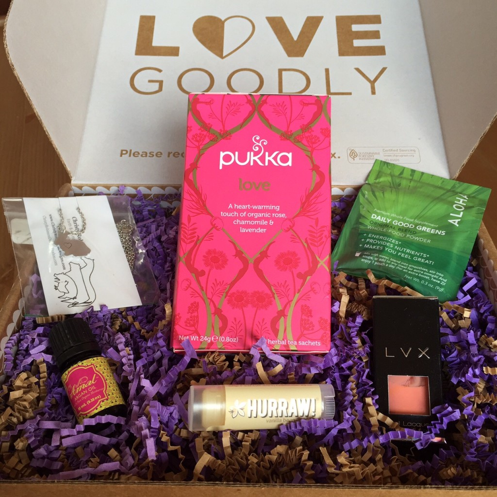 New Vegan Subscription Box Love Goodly And It S Awesome