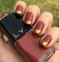 Nails of the Day: LVX Sienna & Monarch