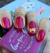 Nails of the Day: Lauren B Beauty's 'Rose Bowl'