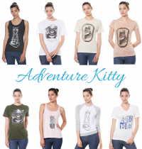 VBR Fashion Rave: Adventure Kitty Tees