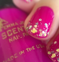 Nails of the Day: Emma Jean Cosmetics 'Not a Wallflower but An Orchid'