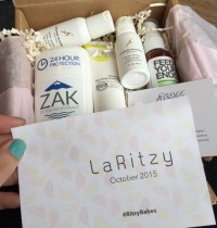 LaRitzy October 2015 Beauty Box Review + Coupon Code