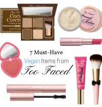 7 Must-Have Vegan Items from Too Faced