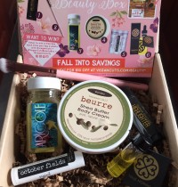 October 2015 Vegan Cuts Beauty Box Review