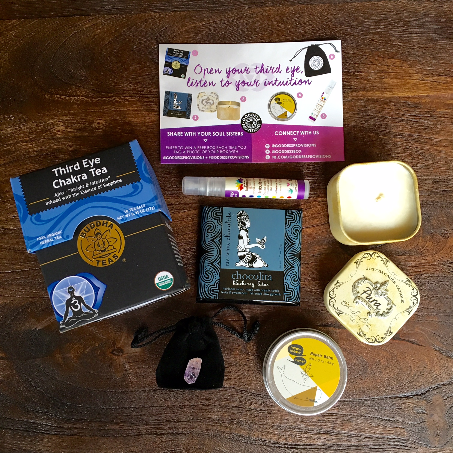 Goddess Provisions October 2015 Box Review