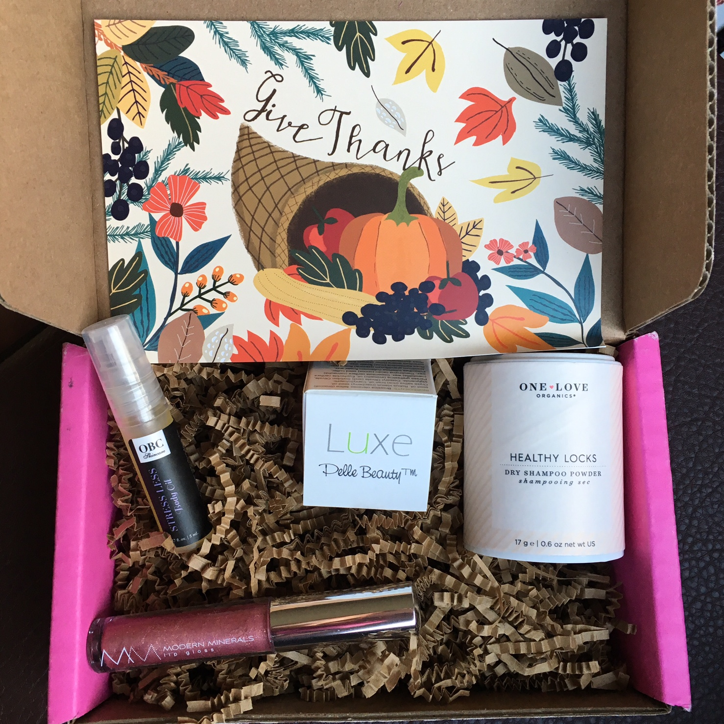 Petit Vour Vegan Beauty Box Review November 2015 Vegan