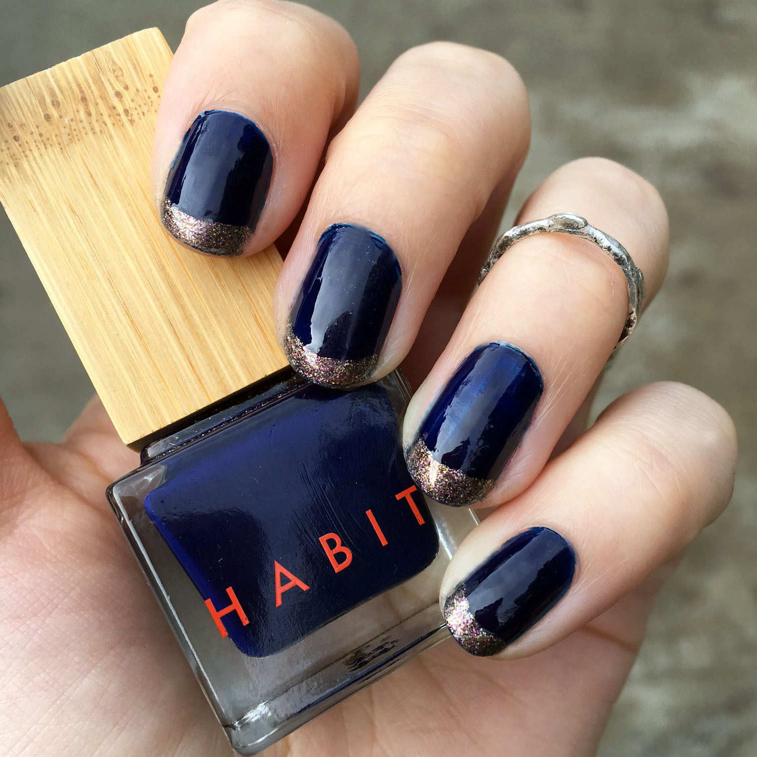 HABIT Deep Sea vegan nail polish
