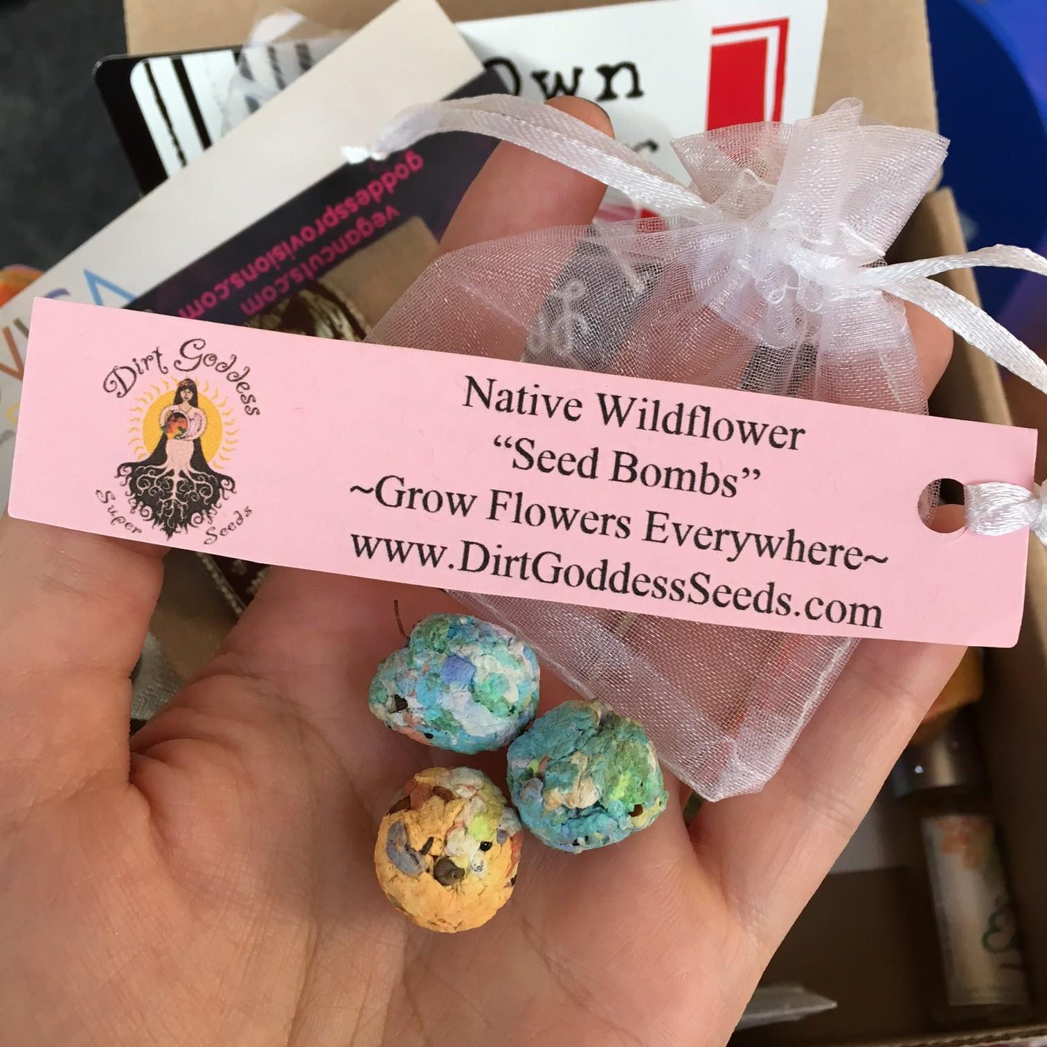 Dirt Goddess Super Seeds Wildflower Seed Bombs