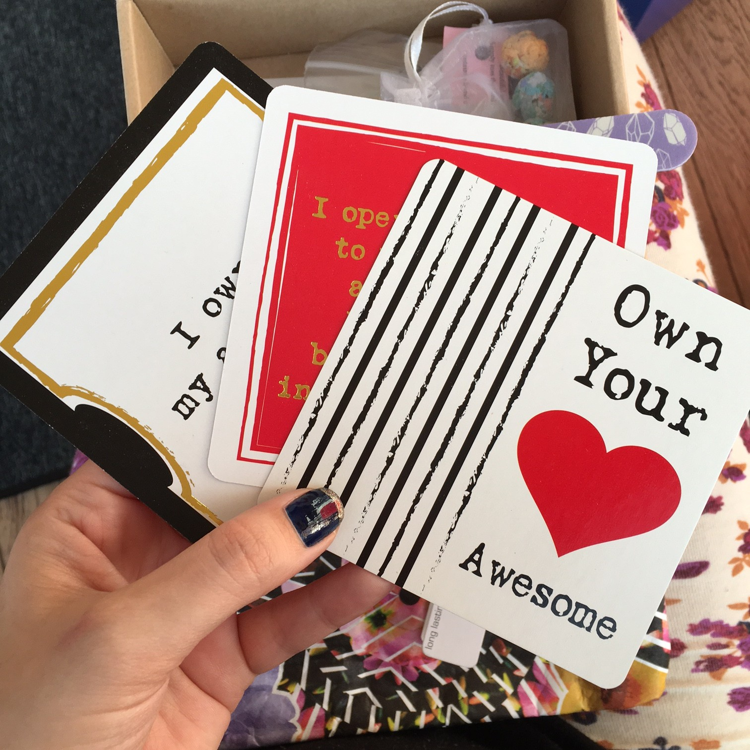 Your Joyologist Own Your Awesome deck
