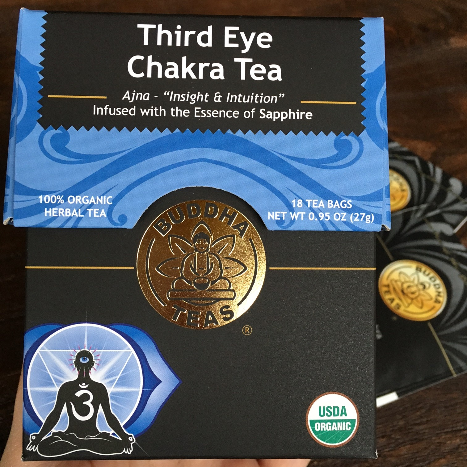 Buddha Teas Third Eye Chakra Tea