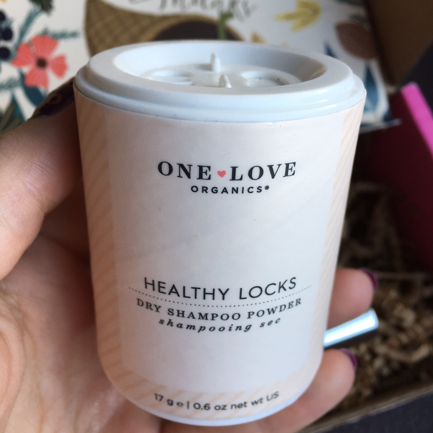 One Love Organics Healthy Locks Dry Shampoo