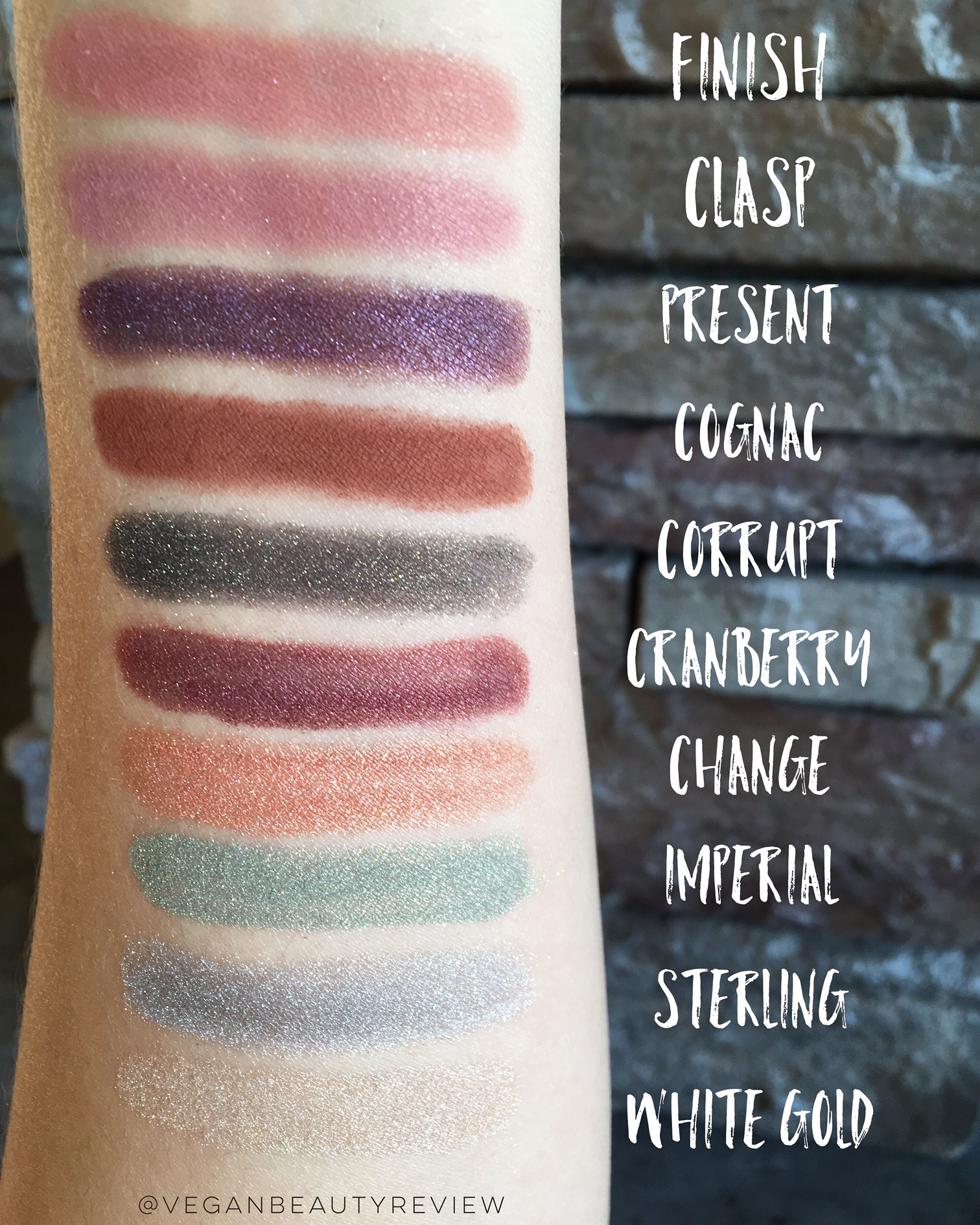 Silk Naturals 2015 Holiday Collection eyeshadow