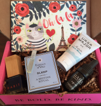 October 2015 Petit Vour Vegan Beauty Box Review