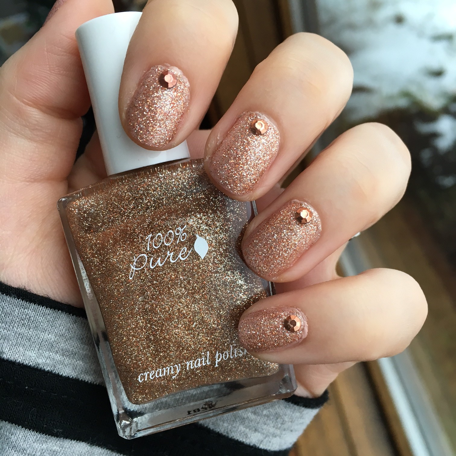 Nails Of The Day 100 Pure S Sugar Vegan Beauty Review Vegan And Cruelty Free Beauty