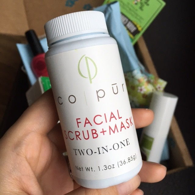 CO-PUR Facial Scrub Mask