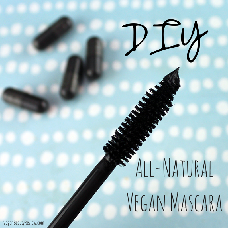 DIY All-Natural Vegan Mascara