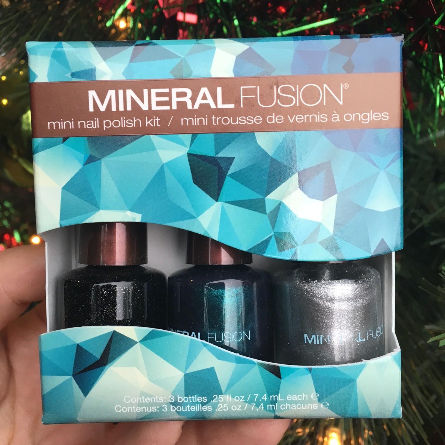 Mineral Fusion holiday nail polish