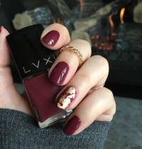 Nails of the Day: LVX Bordeaux