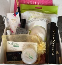 LaRitzy December 2015 Vegan Beauty Box Review + Coupon Code