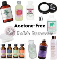 10 Acetone-Free Vegan Nail Polish Removers