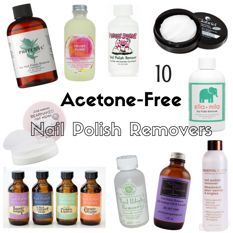 10 Acetone-Free Vegan Nail Polish Removers - Vegan Beauty Review ...