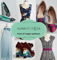 ModCloth's 70% Off Sale (TONS of Vegan Options)