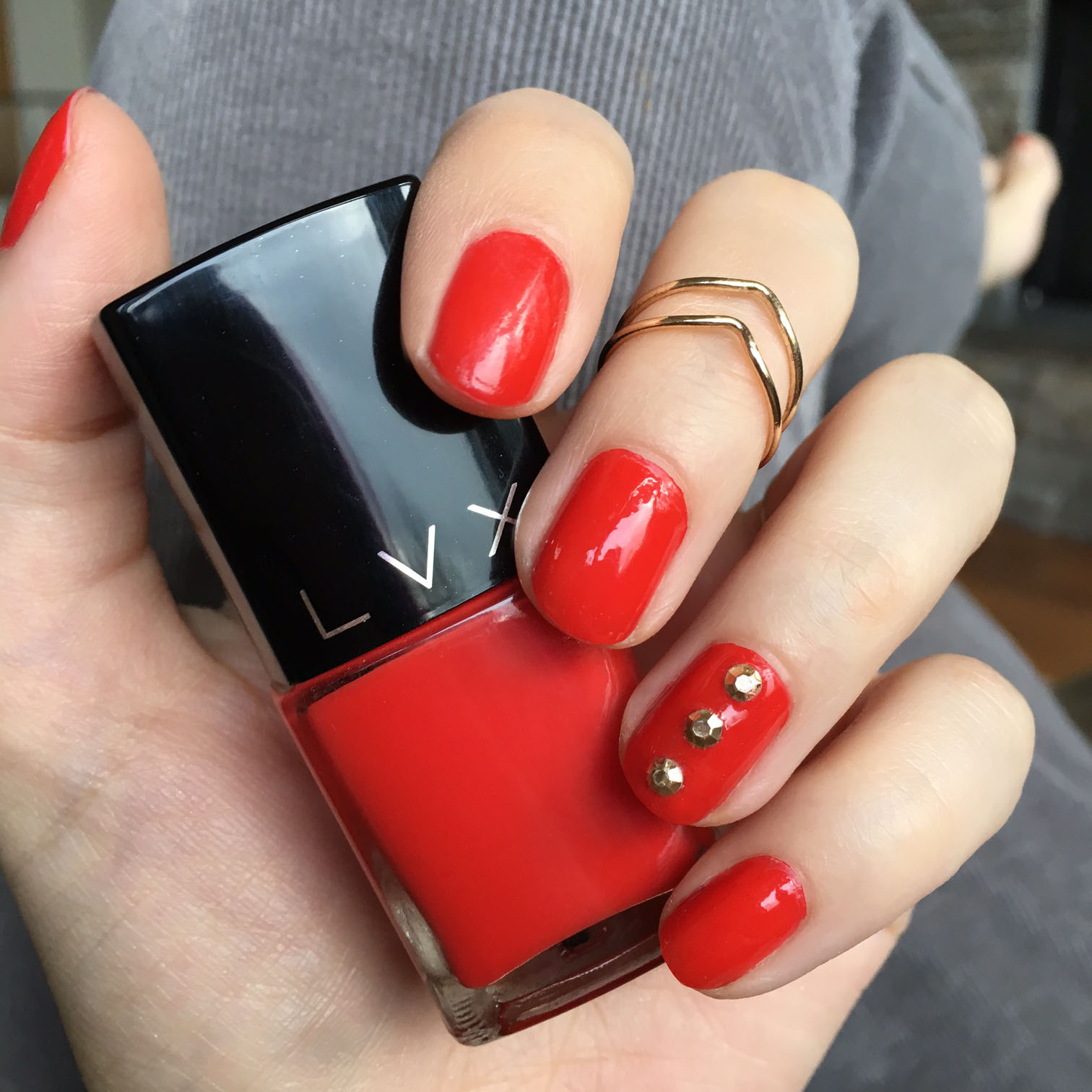 LVX True Love Red polish